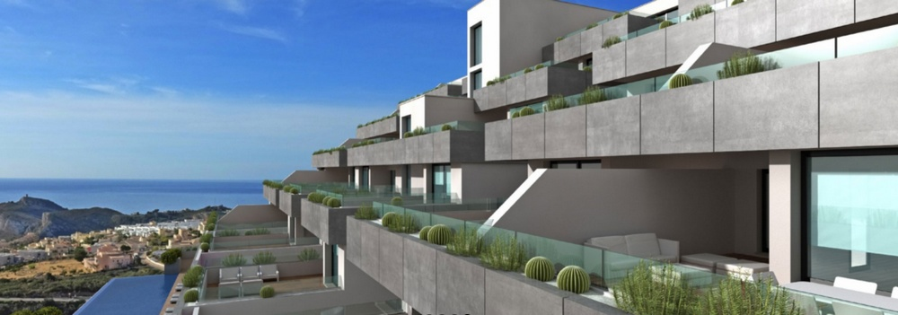 Luxury Apartments with panoramic views