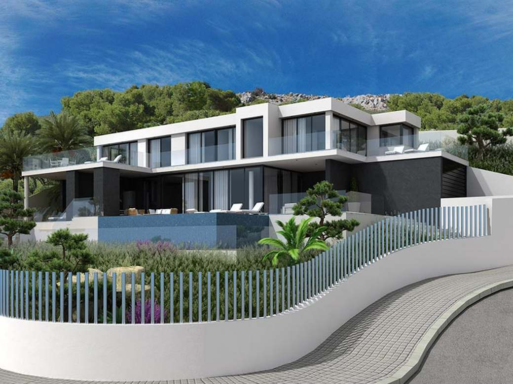 High quality homes in Altea Hills