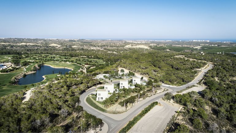 Luxury modern style villa at Las Colinas Golf & Country Club