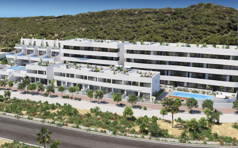 Modern and stylish apartments close to the beach at Guardamar del Segura
