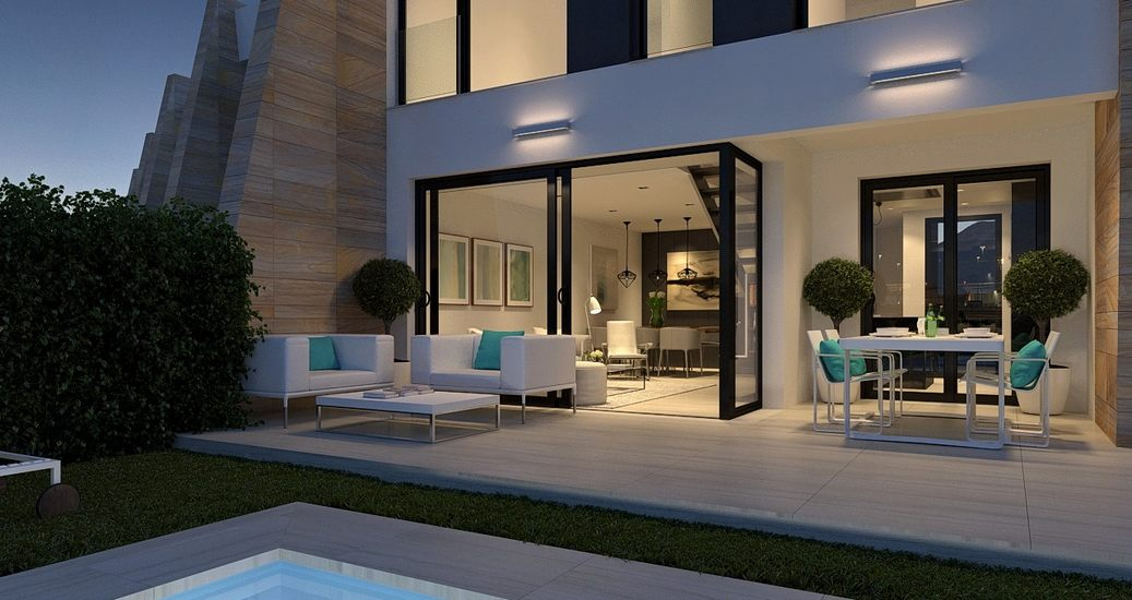 Luxury Town Houses Close To Campoamor Golf