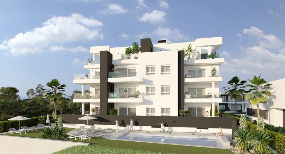 Luxury Apartments Close To Campoamor Golf