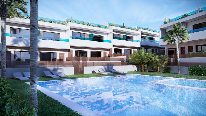 New/Off plan quality Town Houses in Los Balcones
